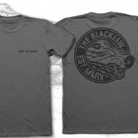"""Men of Prey"" Grey T-shirt"